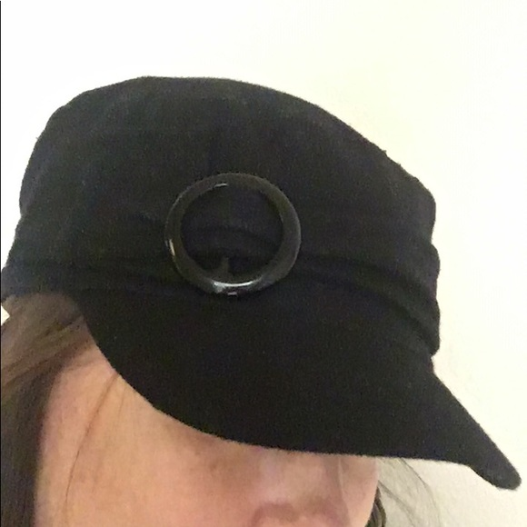 Minicci Black Painters Hat🎁 dbd034c0bd73